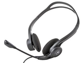 Гарнитура Logitech Stereo Headset PC 960 USB 981-000100