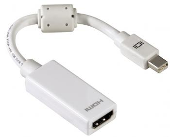 Адаптер Hama mini DisplayPort - HDMI H-53246