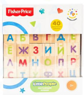 "Кубики Fisher Price ""Алфавит"" 40 шт 30544"