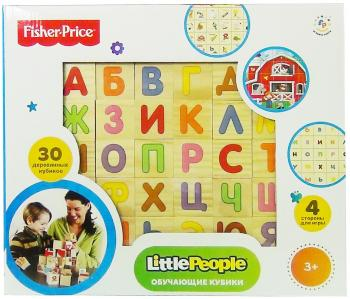 "Кубики Fisher Price ""Алфавит"" 30 шт"