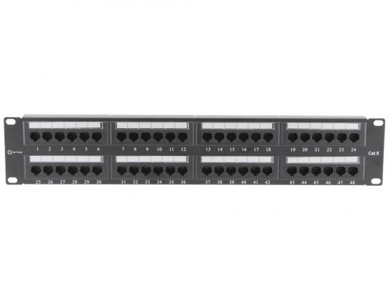 Купить Патч-панель 5bites LY-PP6-06 UTP 6 кат 48 портов Krone&110 dual IDC 19 Патч-панели