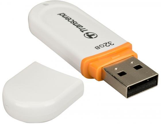 Флешка USB 32Gb Transcend Jetflash 330 TS32GJF330 белый электрощипцы supra hss 3002 cherry