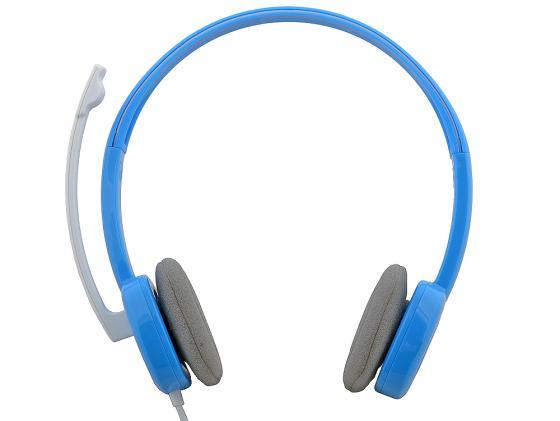 все цены на  Гарнитура Logitech Stereo Headset H150 голубой 981-000368  онлайн