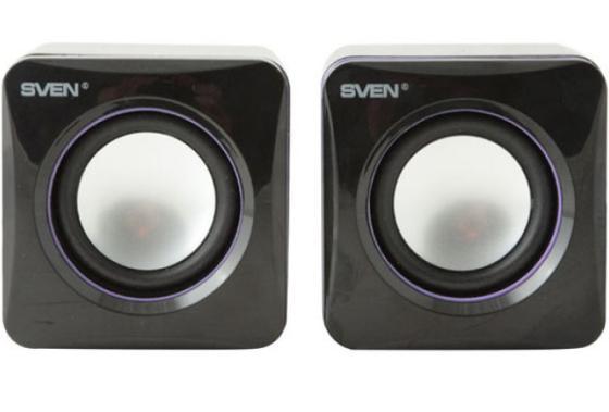 Купить Колонки Sven 315 2x2.5 Вт USB черный Колонки
