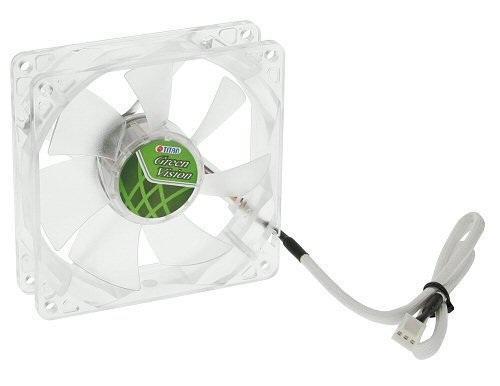 Вентилятор Titan TFD-9225GT12Z/V2(RB) Green Vision 92mm 1200rpm вентилятор titan tfd 12025gt12z 120 мм green vision