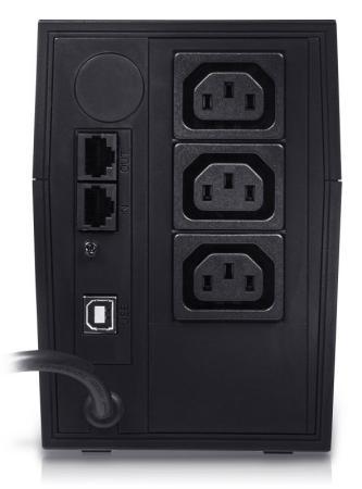 ИБП Powercom RPT-600AP Raptor 600VA/360W AVR USB