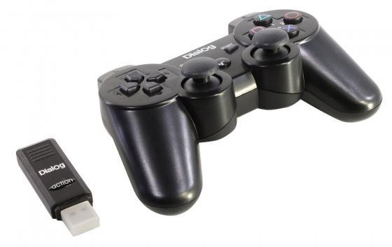 Геймпад Dialog Action GP-A11RF черный USB