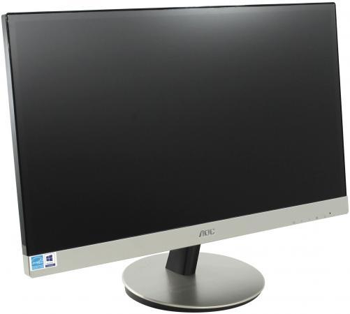 Монитор 23 AOC I2369VM черный серебристый AH-IPS 1920x1080 250 cd/m^2 5 ms HDMI VGA DisplayPort Аудио монитор 23 8 lg 24mp88hv s серебристый ah ips 1920x1080 250 cd m^2 5 ms vga hdmi аудио