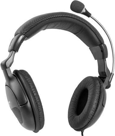 Гарнитура Defender Orpheus HN-898 черный 63898 внутриканальные наушники akg n20 black