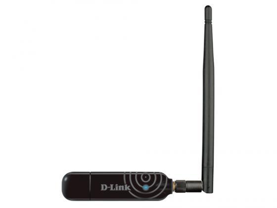 Купить Беспроводной USB адаптер D-LINK DWA-137 802.11n 300Mbps 2.4ГГц 18dBm Wi-Fi адаптеры