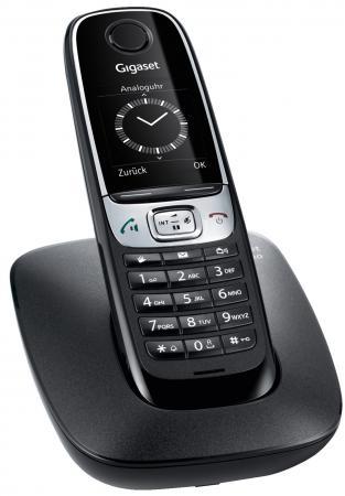 Радиотелефон DECT Gigaset C620 черный gigaset gigaset c620