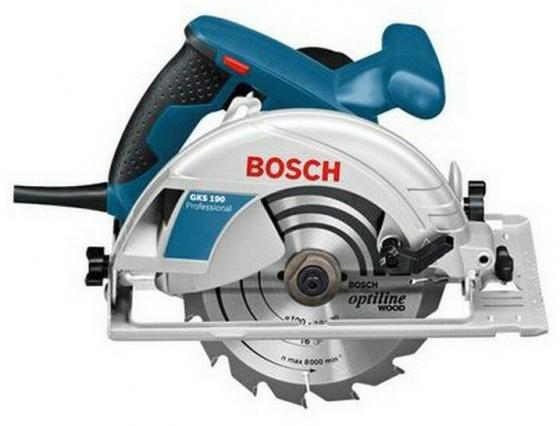Циркулярная пила Bosch GKS 190 пила циркулярная bosch gks 55 g 0 601 682 000