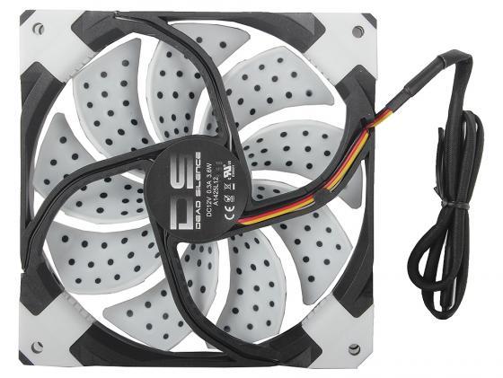 Вентилятор Aerocool DS белая подсветка 140mm 4713105951639 вентилятор aerocool ds синяя подсветка 120mm 4713105951585