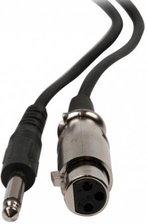 Микрофон Ritmix RWM-100 3м черный