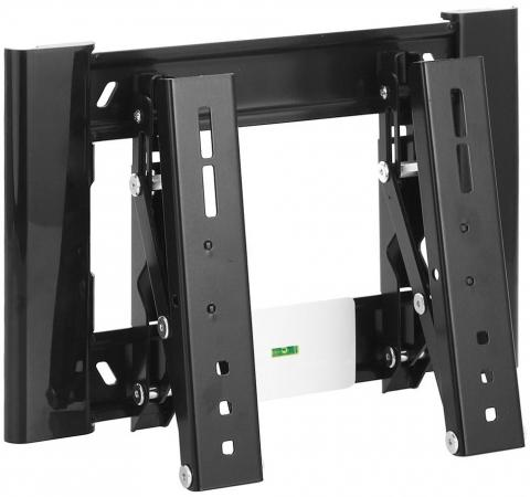 Кронштейн Holder LCD-T2607-B черный для ЖК ТВ 22-47 настенный от стены 40мм наклон -2+15° поворот 0° до 30 кг holder lcd t2611 b для 22 –47 чёрный