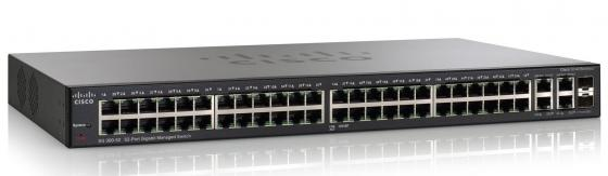 Купить Коммутатор Cisco SG 300-52 управляемый 52 порта 10/100/1000Mbps Gigabit Managed Switch SRW2048-K9-EU Проводное оборудование