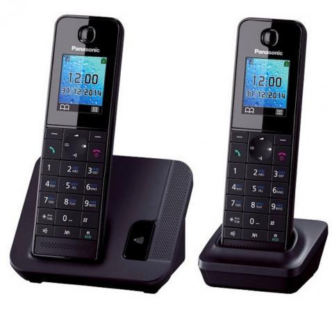 Радиотелефон DECT Panasonic KX-TGH212RUB дополнительная трубка KX-TGHA20 черный panasonic kx tg8061 rub dect телефон