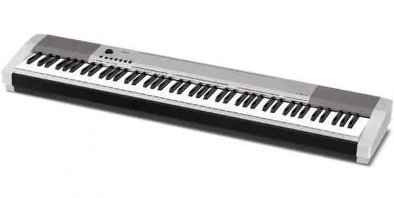 Цифровое фортепиано Casio CDP-130SR 88 клавиш USB MIDI серебристый