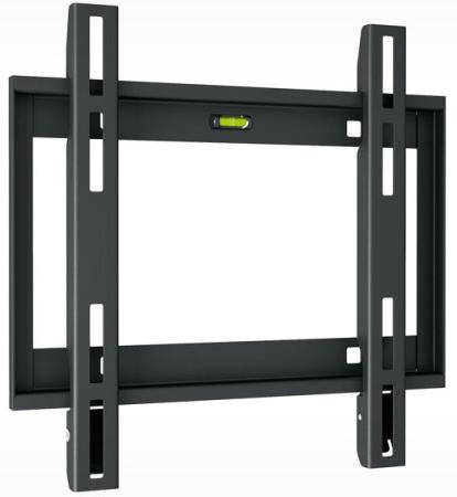 Кронштейн Holder LCD-F2608-B черный для ЖК ТВ 22-47 настенный от стены 23мм наклон 0° VESA 200x200 до 30кг holder lcd t2611 b для 22 –47 чёрный