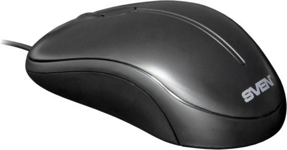 Мышь проводная Sven CS-301 чёрный USB