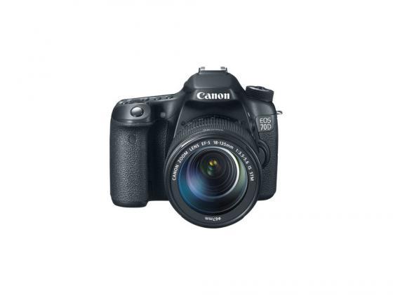 Зеркальная фотокамера Canon EOS 70D Kit 18-135 IS STM 20Mp черный 8469B018 stm stm mlu 70