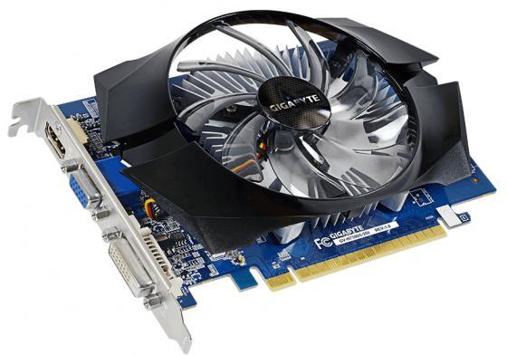 Видеокарта 2048Mb Gigabyte GT730 PCI-E GDDR5 64bit VGA HDMI DVI HDCP GV-N730D5-2GI Retail видеокарта gigabyte gt 730 2gb gv n730d3 2gi