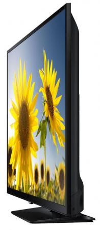 "Телевизор LED 24"" Samsung UE24H4070AUX черный 1366x768 100 Гц HDMI USB"