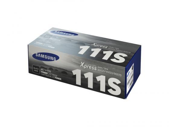 Картридж Samsung MLT-D111S для SL-M2020 SL-M2020W SL-M2070 SL-M2070W черный mlt d111s 111s 111 d111 reset chip for samsung xpress sl m2020w m2022 sl m2020 sl m2020 m2070w mlt d111s toner laser printer