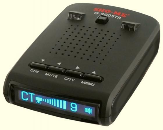Купить Радар-детектор Sho-Me G-900STR синий Радар-детекторы