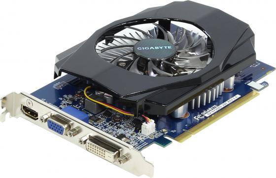 Купить Видеокарта 2048Mb Gigabyte GT730 PCI-E GDDR3 64bit HDMI DVI HDCP GV-N730D3-2GI Retail Видеокарты