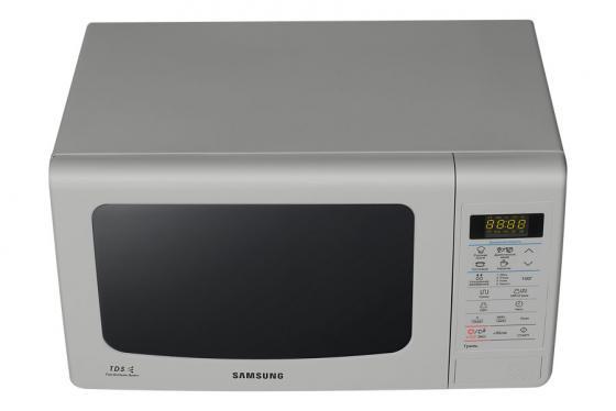 Микроволновая печь Samsung GE83KRS-3/BW 800 Вт серебристый  микроволновая печь samsung ge83krqs 3 800 вт серебристый ge83krqs 3