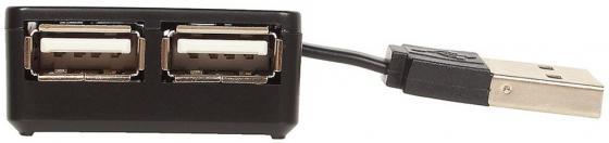 Концентратор USB 2.0 GINZZU GR-414UB 4 x USB 2.0 черный