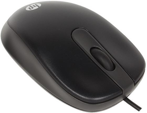 Купить Мышь проводная HP G1K28AA чёрный USB Мыши