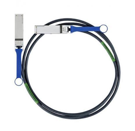 Купить Кабель Mellanox passive copper cable ETH 40GbE 40Gb/s QSFP 1m MC2210130-001 Кабель