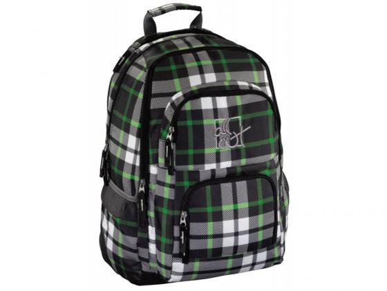 Купить Рюкзак с отделением для ноутбука Hama All Out Louth Forest Check 26 л зеленый серый 00129219 Рюкзаки для школьников