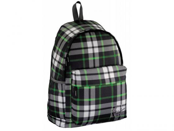 Купить Рюкзак Hama All Out Louth Forest Check 22 л зеленый черный 00129225 Рюкзаки для школьников