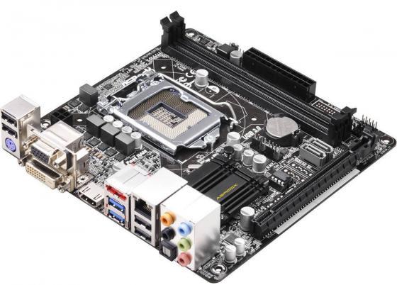 все цены на  Материнская плата ASRock H81M-ITX Socket 1150 H81 2xDDR3 1xPCI-E 16x 2xSATAIII mini-ITX Retail  онлайн