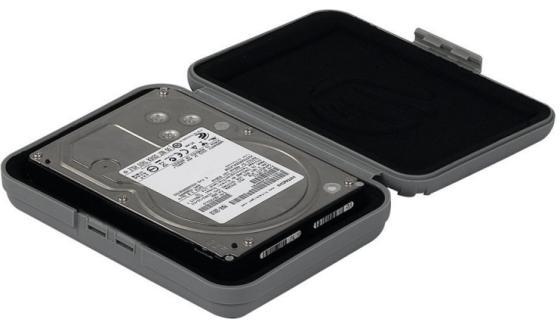 Чехол для HDD 3.5 Orico PHX-35-GY серый корпус для hdd orico 35 bl pp hdd 3 5 hdd phx 35 bl