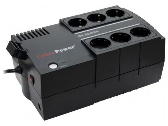 Купить ИБП CyberPower 850VA/490W BS850E черный Источники бесперебойного питания (ИБП)