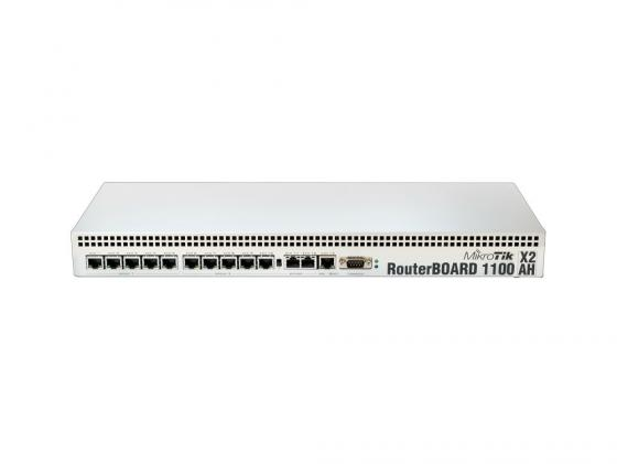 Купить Маршрутизатор Mikrotik RouterBOARD RB1100AHx2 13x10/100/1000 Mbps Маршрутизаторы