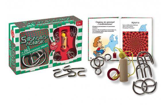 Купить Набор головоломок Мини-маэстро НОВЫЙ ФОРМАТ 20159 от 6 лет Обучающие материалы для детей