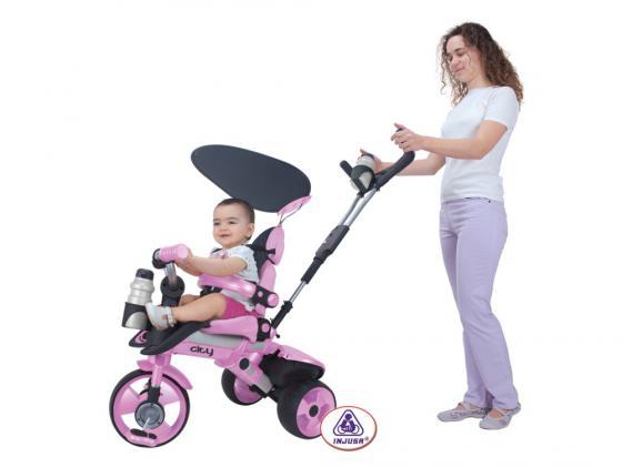 Велосипед трехколёсный Injusa City Trike Aluminium розовый 3262/002