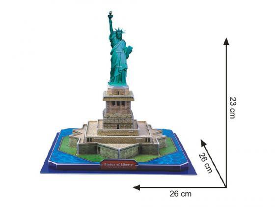 Пазл 3D 39 элементов CubicFun 3D пазл Статуя Свободы (США)