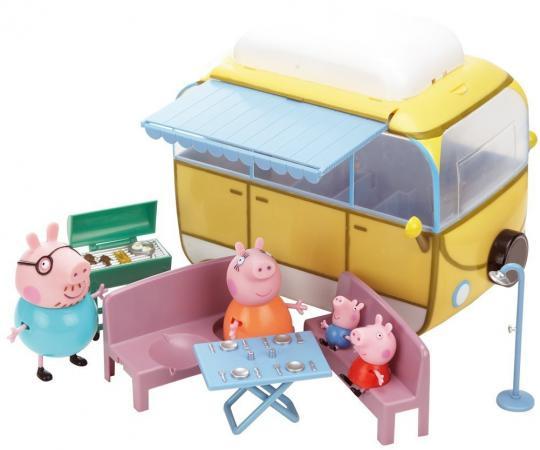 Игровой набор Peppa Pig Кемпинг Пеппы 7 предметов 19070 игровой набор peppa pig кемпинг пеппы