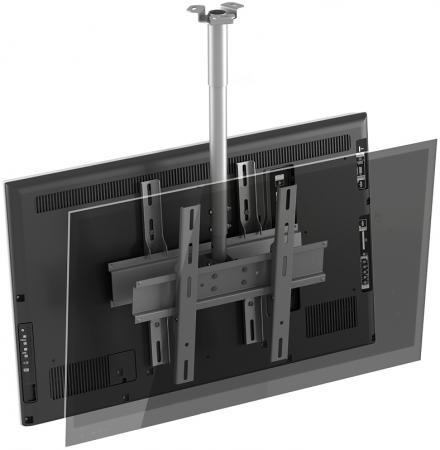 Кронштейн Holder PR-102-W белый для ЖК ТВ 32-65 потолочный фиксированный VESA 400x400 до 90 кг тумба holder albero tv 37140 н черная