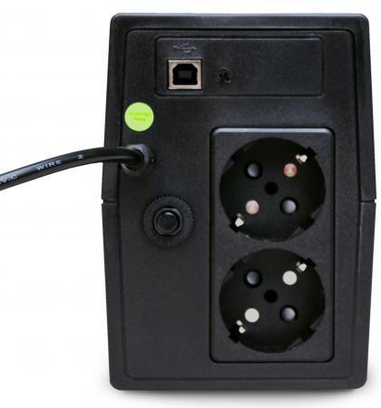 ИБП Powerman Back Pro 600 Plus 600VA 390Вт  цена и фото