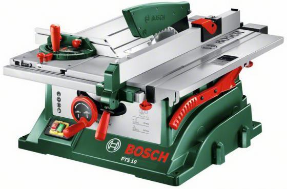 Дисковая пила Bosch PTS 10 пила дисковая bosch gks 55 g 601682000