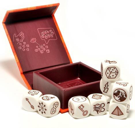 Настольная игра семейная Кубики Историй Rory's Story Cubes Original RSC1RU01 rory s story cubes настольная игра кубики историй бэтмен