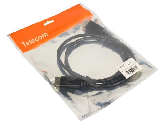 Кабель DisplayPort 1м VCOM Telecom CG590-1M 6926123462614  кабель usb telecom tc6911bk 1 0m 1м tc6911bk 1 0m