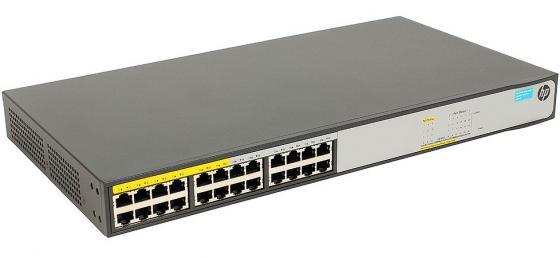 Купить Коммутатор HP 1420-24G-PoE+ управляемый 24 порта 10/100/1000Mbps 2xSFP JH019A Коммутаторы